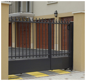Iron Security Gate by Armin Iron Works